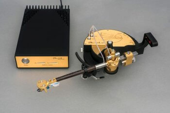Reed 5T tonearm gold matte finish