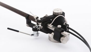 Black tonearm 2A Reed