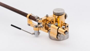 gold glossy tonearm Reed 3P