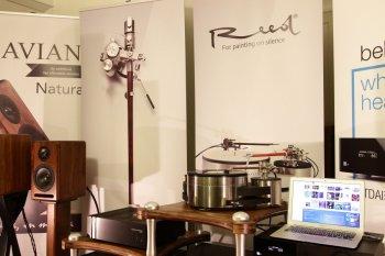 Lisboa 2016 tonearm Turntable Reed Show