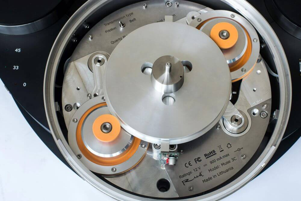 Reed Muse 3C Turntable Inside